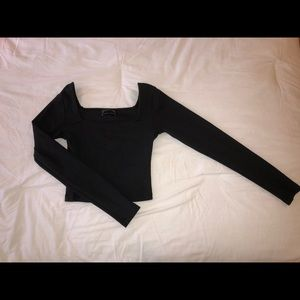 Urban Outfitters Square-Neck Top
